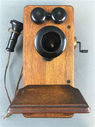 American Electric Company Hand Crank Telephone