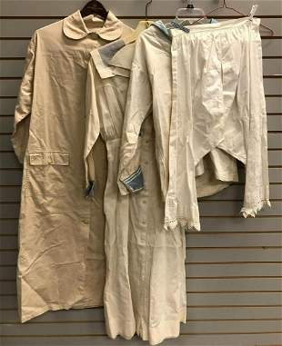 Group of vintage costume/uniform items