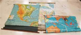 Group of vintage maps