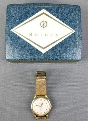 Bulova watch in box