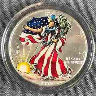 1999 1oz. Silver American Eagle Silver Dollar