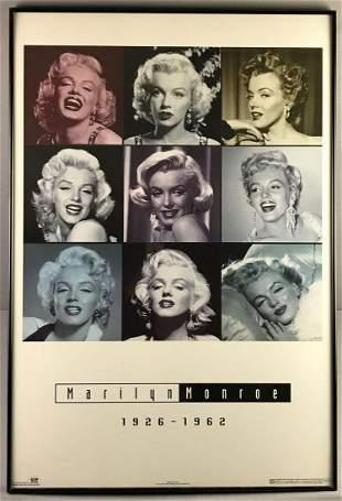 Framed Marilyn Monroe Memorial Poster
