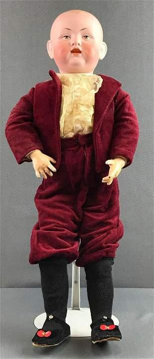 Antique 24 inch German bisque Bruno Schmidt doll