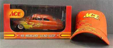 First Gear Ace Stores 49 Mercury ?Lead Sled? die-cast