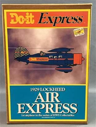 Do It Express Die Cast Model Airplane