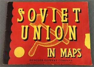 Soviet Union Map Book