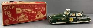 Dick Tracy Siren Tin Litho Squad Car