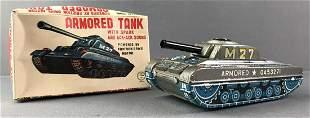 A Utaka Toy Armored Tank