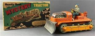 Handy Hank Mystery Tractor