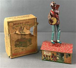 Jazzbo Jim The Dancer on the Roof Wind Up Toy