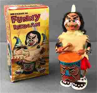 Marx Toys Funny Indian Wind Up Toy