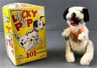 Walt Disney 101 Dalmatians Lucky Pup Wind Up Toy