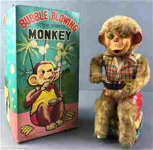 Bubble Blowing Monkey