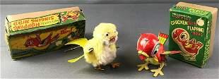 2 Mechanical Bird Toys