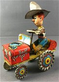 Unique Art MFG Co Rodeo Joe Wind Up Toy