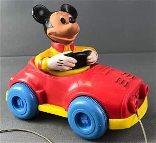 Kohner Walt Disney Mickey Mouse Pull Toy