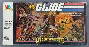 GI Joe Live the Adventure game sealed original box