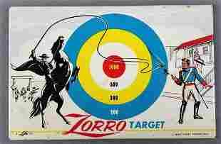 Metal Zorro Target