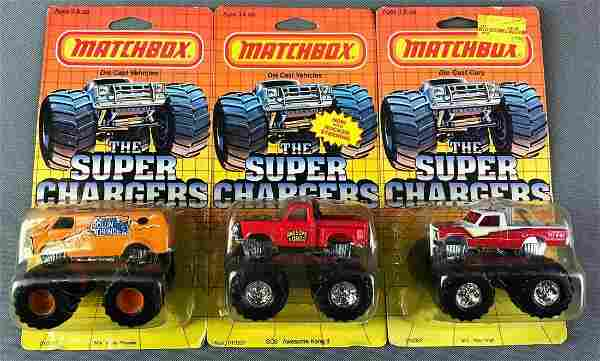Group of 3 Matchbox Die Cast Cars