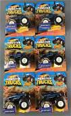 Group of 6 Mattel Bigfoot Monster Trucks
