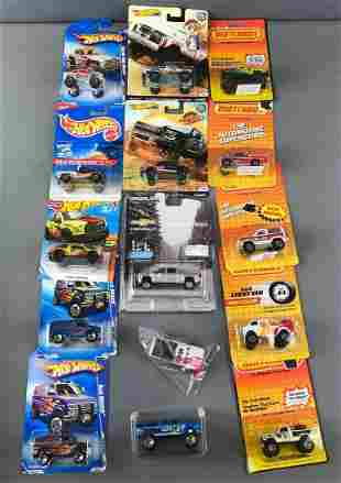 Group of Hot Wheels and Matchbox Cars