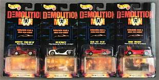 Group of Demolition Man Hot Wheels