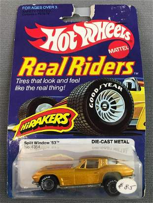 Hot Wheels Real Riders '63 Split Window Firebird