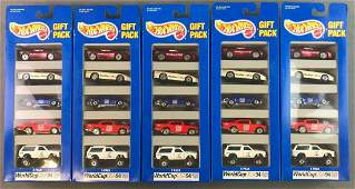 Group of Hot Wheels Gift Packs