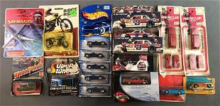 Group of Assorted Collectible Toy Cars