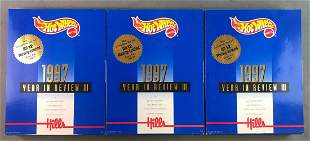 Group of Hot Wheels 1997 Collectors Sets