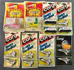 Group of Corgi Die-Cast Metal Toys