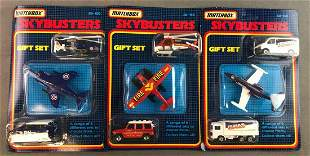 Group of Matchbox Skybusters Toy Sets