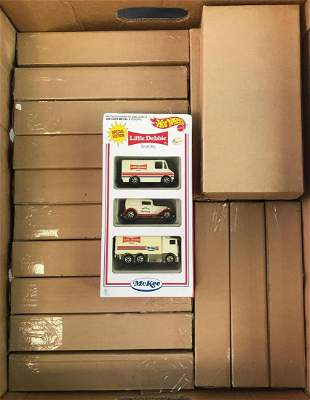 Group of Hot Wheels McKee Collectible Sets