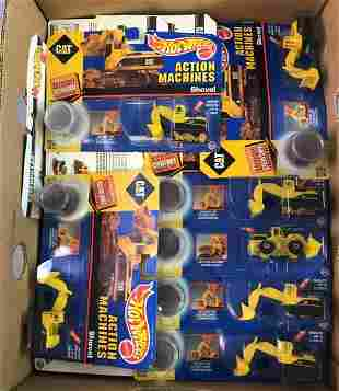 Group of Hot Wheels Action Machines