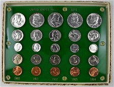 Group of (5) U.S. Proof Sets in Capital Holder
