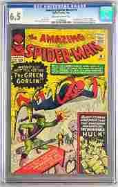CGC Graded Marvel Comics The Amazing Spider-Man No. 14