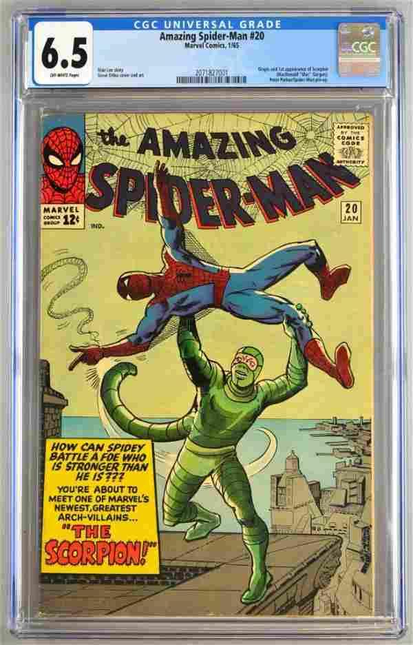 CGC Graded Marvel Comics The Amazing Spider-Man No. 20