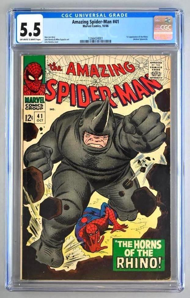 CGC Graded Marvel Comics The Amazing Spider-Man No. 41
