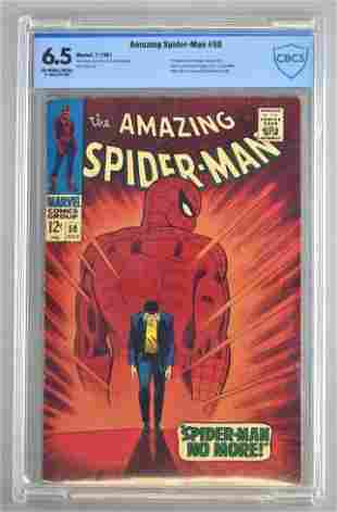 CBCS Graded Marvel Comics The Amazing Spider-Man No. 50