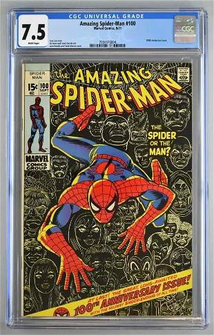CGC Graded Marvel Comics The Amazing Spider-Man No. 100