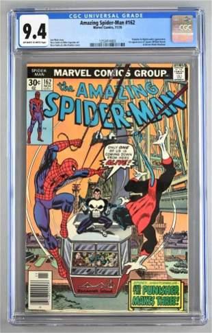 CGC Graded Marvel Comics The Amazing Spider-Man No. 162