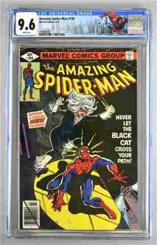 CGC Graded Marvel Comics The Amazing Spider-Man No. 194