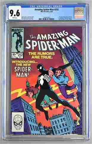 CGC Graded Marvel Comics The Amazing Spider-Man No. 252