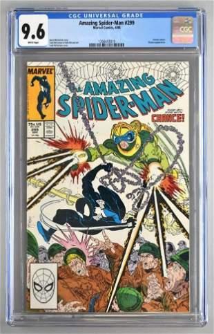 CGC Graded Marvel Comics The Amazing Spider-Man No. 299