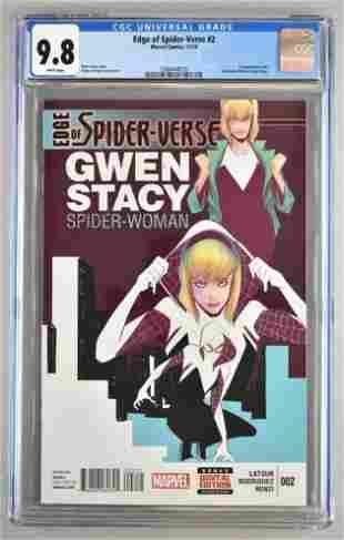 CGC Graded Marvel Comics Edge of Spider-Verse No. 2