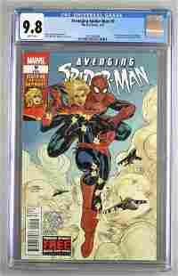 CGC Graded Marvel Comics Avenging Spider-Man No. 9