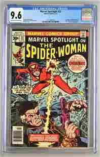 CGC Graded Marvel Comics Marvel Spotlight No. 32 comic