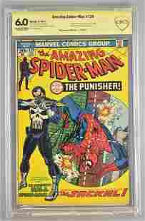 Signed CBCS Graded Marvel Comics The Amazing Spider-Man