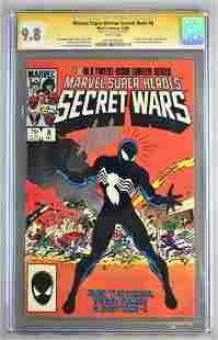 Signed CGC Graded Marvel Comics Marvel Super Heroes