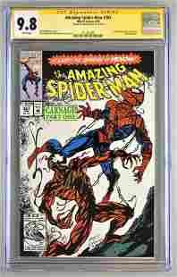 Signed CGC Graded Marvel Comics The Amazing Spider-Man
